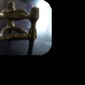 2 bougeoirs combi-leuchter designés par ceasar stoffi, édités par nagel, diffusés par bmf, allemagne