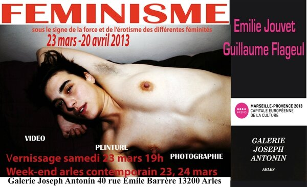 Feminisme invitation galerie joseph antonin