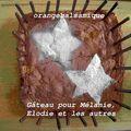 Gâteau pour mélanie, elodie et les autres