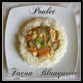 Poulet faon blanquette...