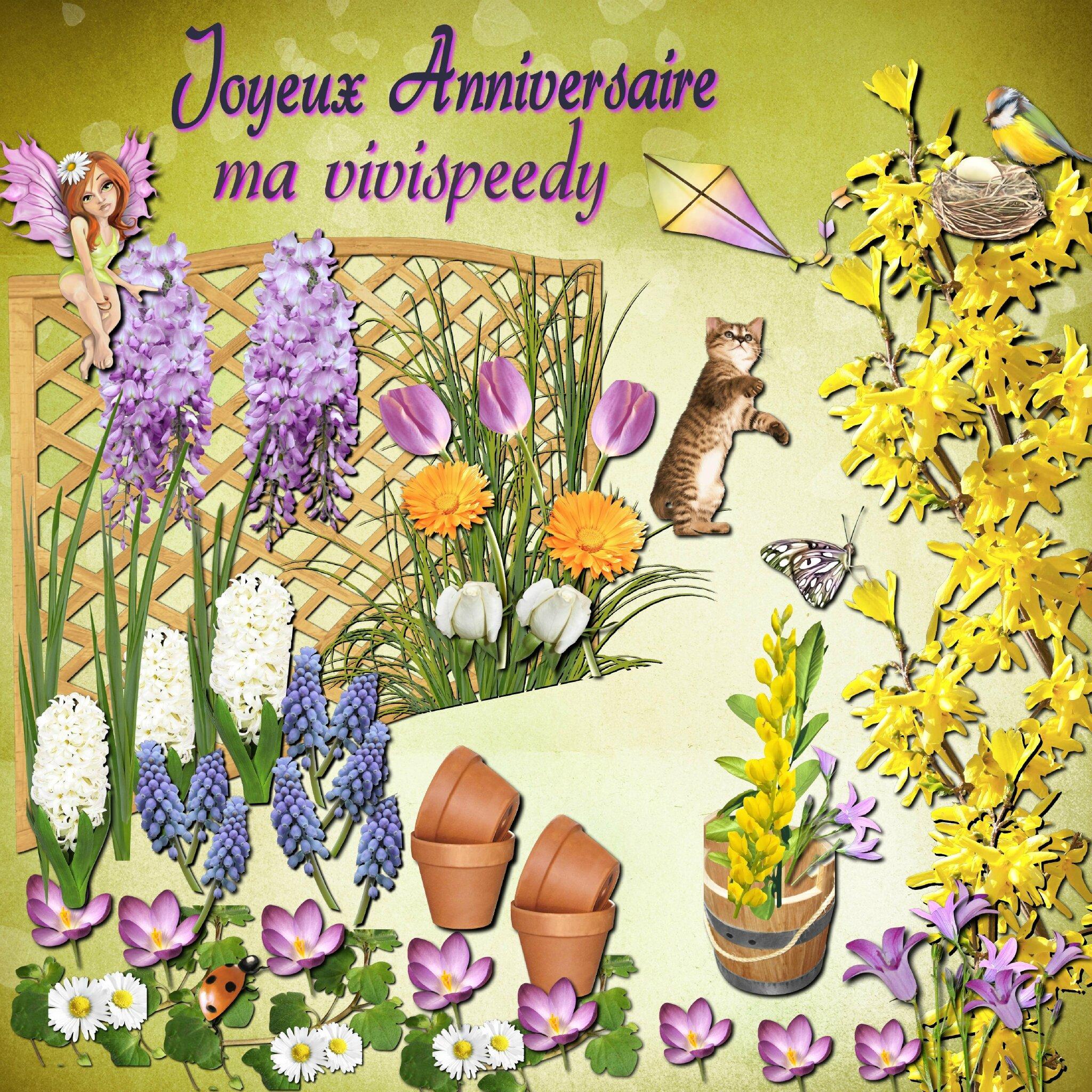 * Petit jardin de fleurs pour toi