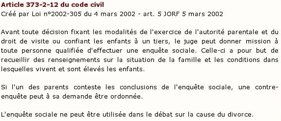 Article 373-2-12 du code civil