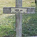 Adjudant Henri LANGE