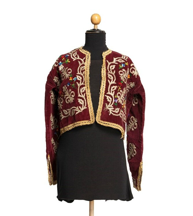 Court Velvet Jacket with Embroidery, Ottoman Empire, 19th century
