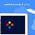 Presse, vidéo et musique gratuites sur une seule application...découvrez air france play !