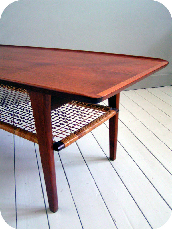 Table basse scandinave ann e 50 table de lit - Table basse scandinave annee 50 ...