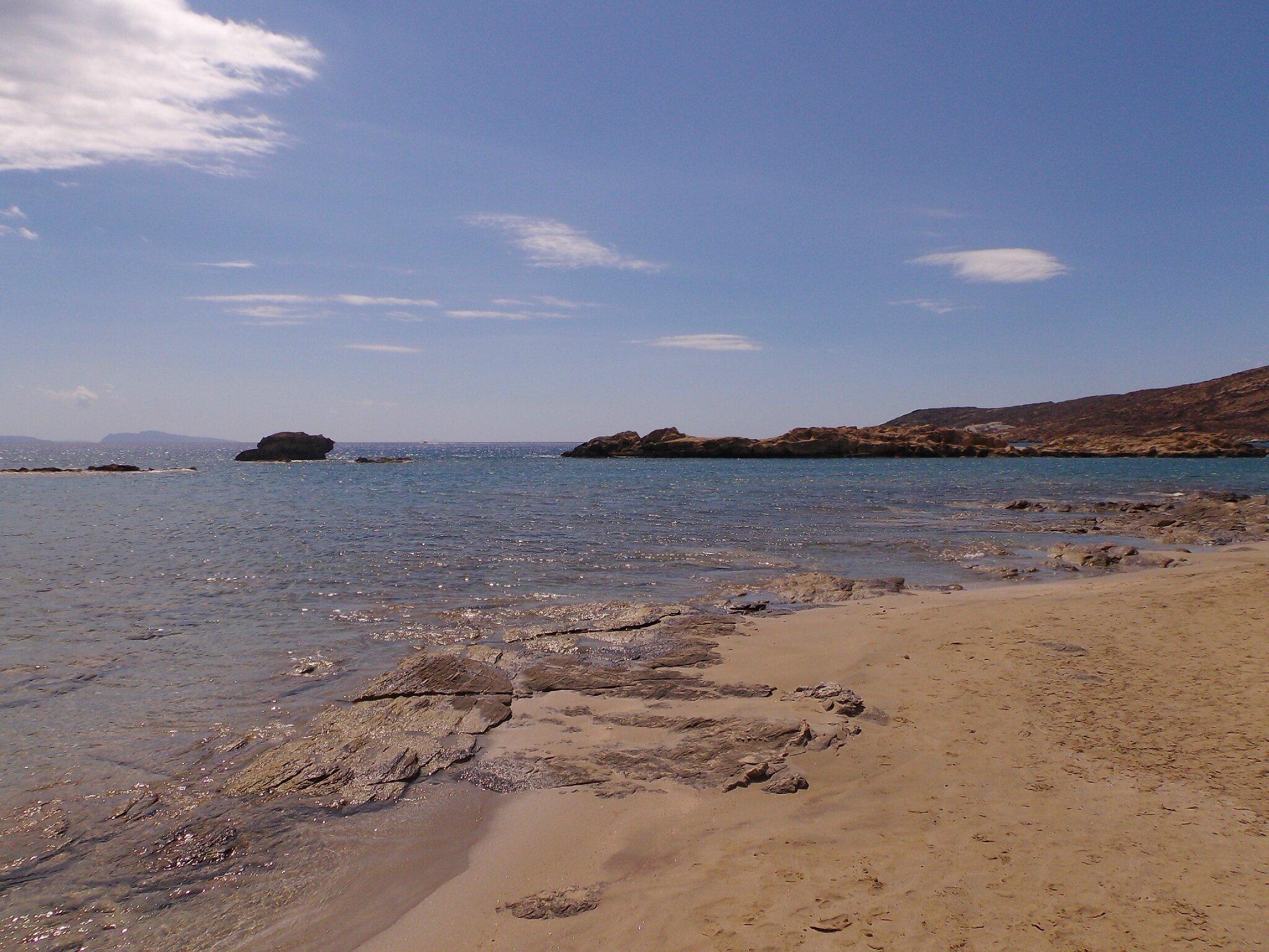 Ios et la Sublime plage de Maganari !