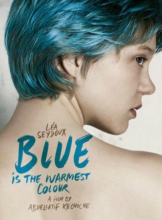 Le Bleu affiche