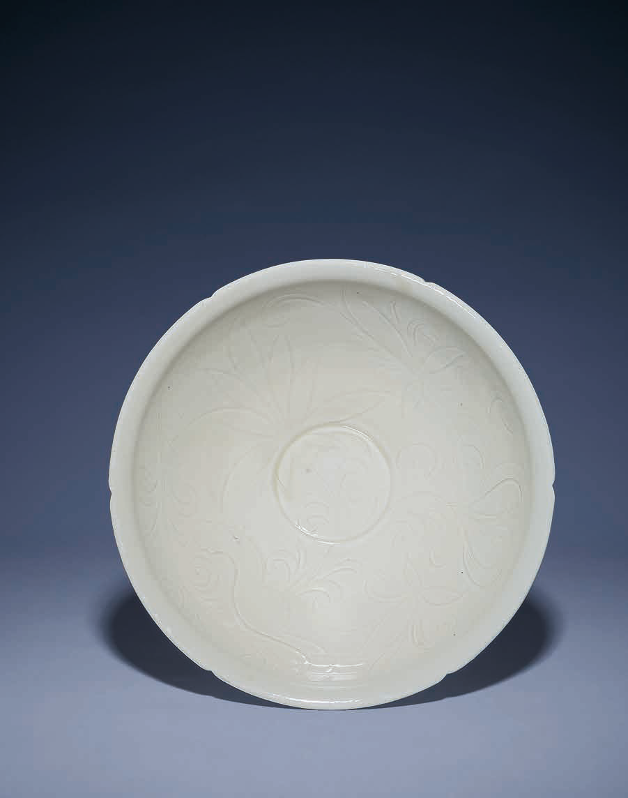 A Ding foliate-rimmed bowl, Northern Song dynasty (960-1127)