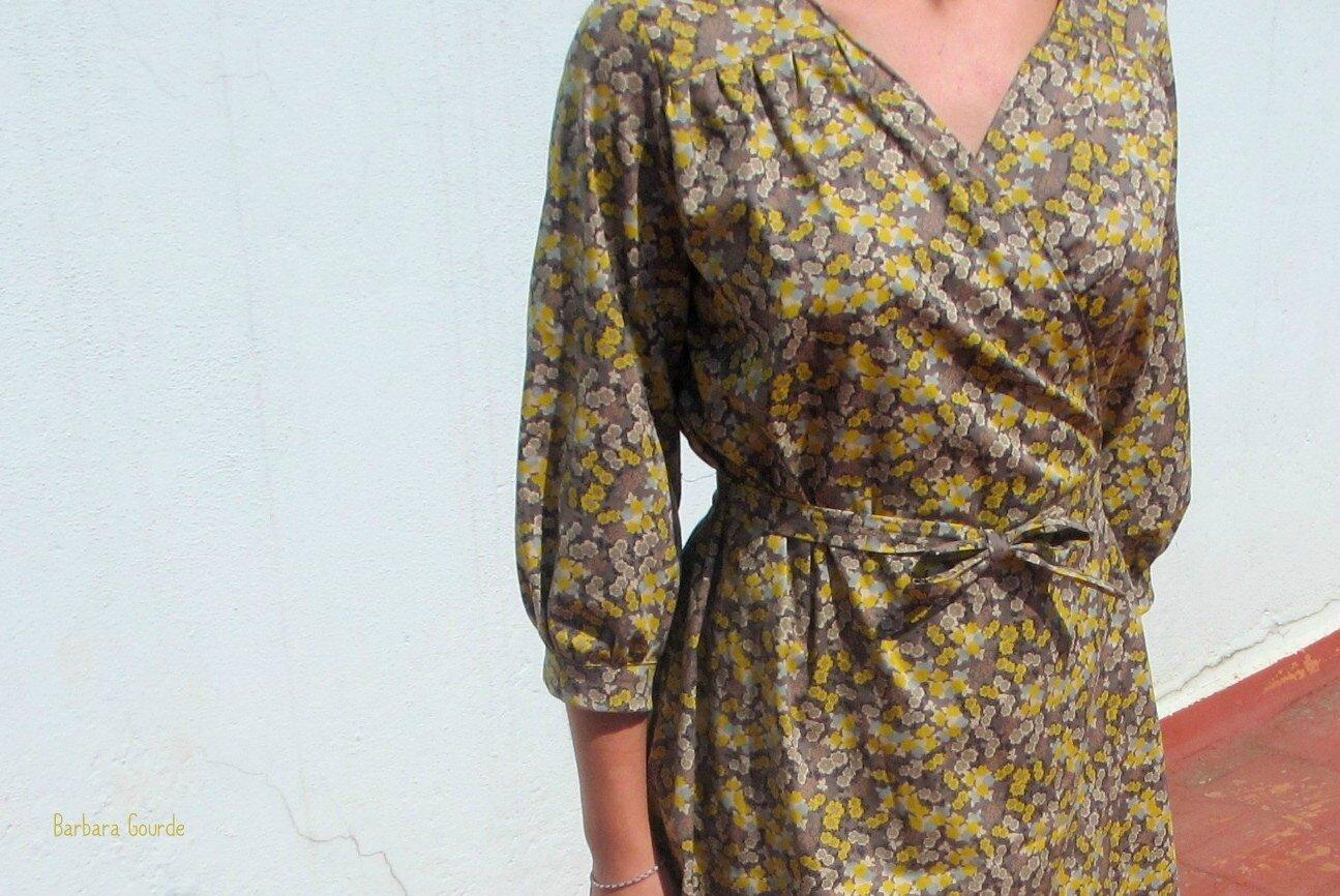 patron couture robe kimono