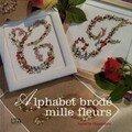alphabet mille fleurs