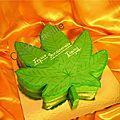 Gâteau feuille de cannabis forêt noire