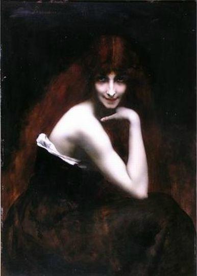 La jeune femme rouse de Juana ROMANI
