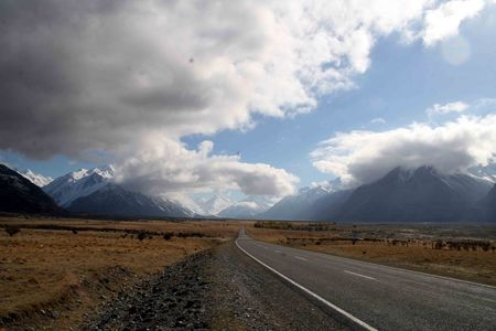 On_the_way_to_Mt_Cook