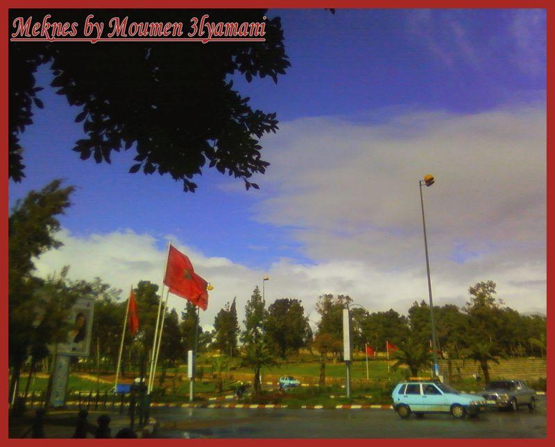 Place l'Agora Meknes Novembre 2008