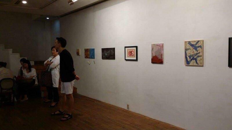 Vernissage à la 8street Gallery, Seoul - photo Galerie BDMC, Paris