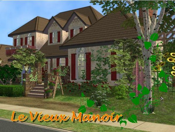 Le vieux manoir maisons deco sims2 for Maison moderne de luxe sims 3