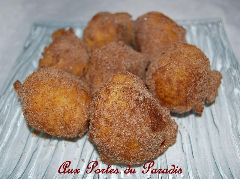 Beignets gaufres cr pes aux portes du paradis - Recette de beignet moelleux et gonfle ...
