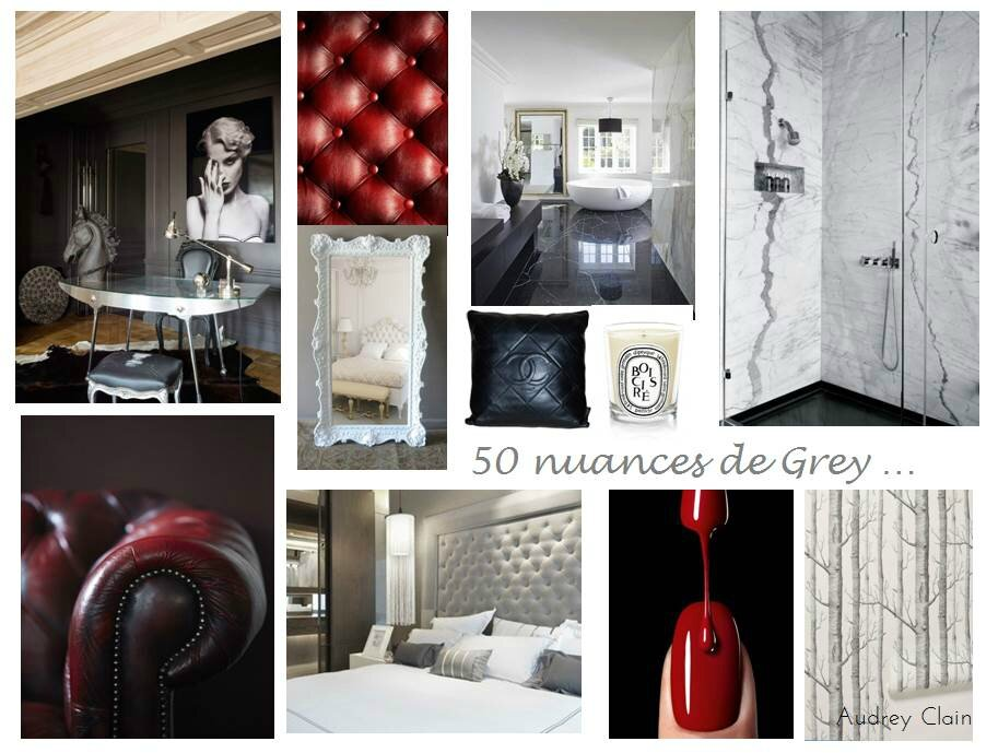 Chambre rouge 50 nuances de grey id es de d coration et for Decoration 50 nuances de grey