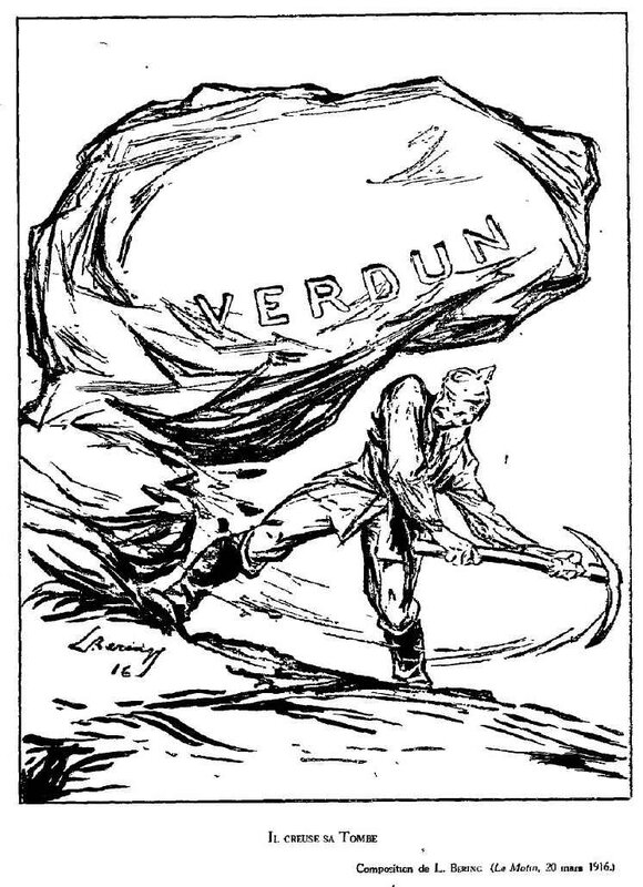 Dessins de guerre Verdun15