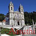 Santuário Bom Jesús do Monte, Braga , Portugal.