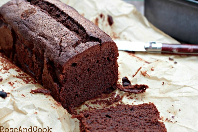 recette de cake chocolat
