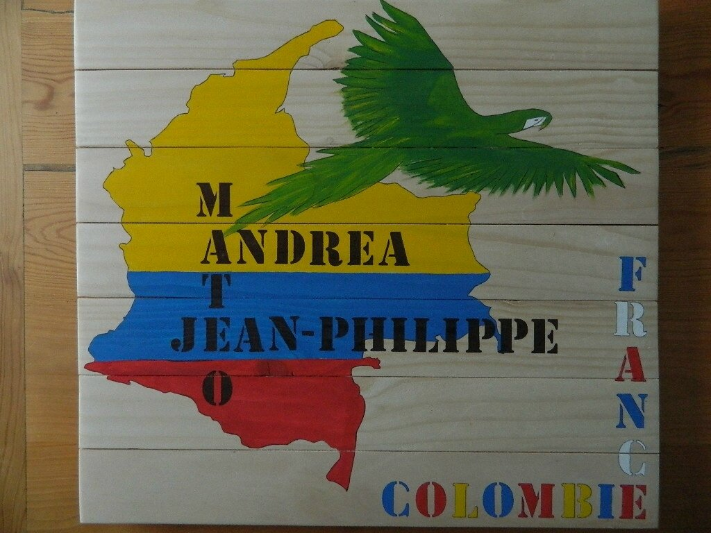 COLOMBIE-FRANCE