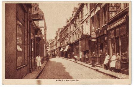 62 - ARRAS - Rue Ronville