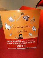 Prix Emile Guillaumin 2011