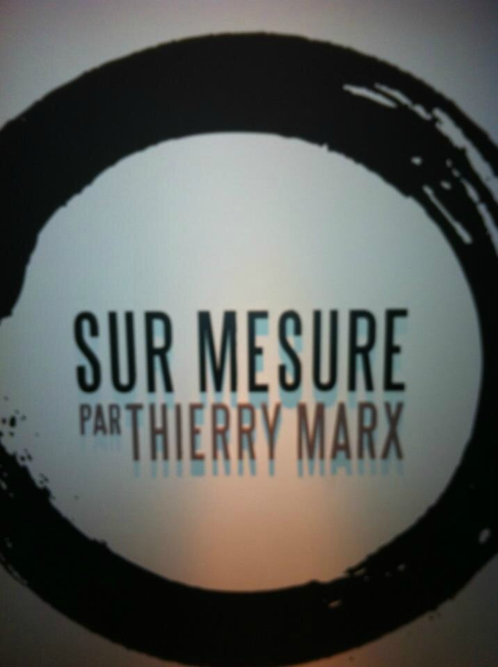 Restaurant le sur mesure thierry marx paris for Cuisine moleculaire paris