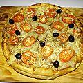 Tarte à l'anchoiade et aux tomates façon pissaladière