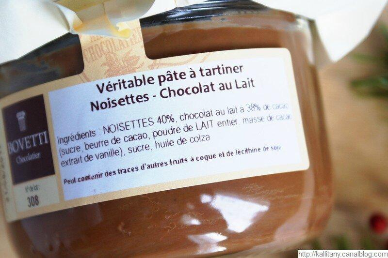 Blog culinaire Kallitany - Pâte à tartiner Bovetti (2)