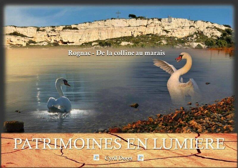 Couverture livre Cyril Doret Patrimoines en lumière - Rognac de la colline au marais