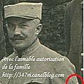 Auguste roux, sergent mitrailleur