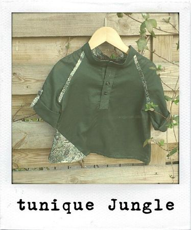 tunique Jungle