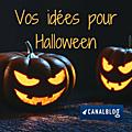 Vos idées pour halloween