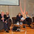 table ronde : (de G. à D.) M. Gérard Nauroy, Mme Désirée Mayer,