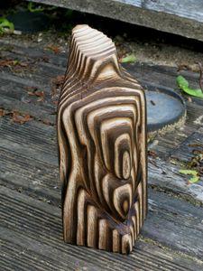 Fil de fer et bois brul l 39 atelier des petzouilles - Bois brule meuble ...