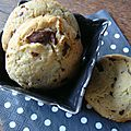 Cookies au chocolat, sans oeuf ni beurre