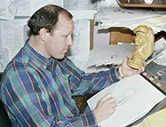 Glen Keane superviseur de l'animation d'Ariel