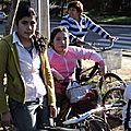 paseo en bicicleta con la Lautaro