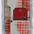 Book of tags Manuéla rouge 1