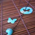 Fimo - Papillon bleu