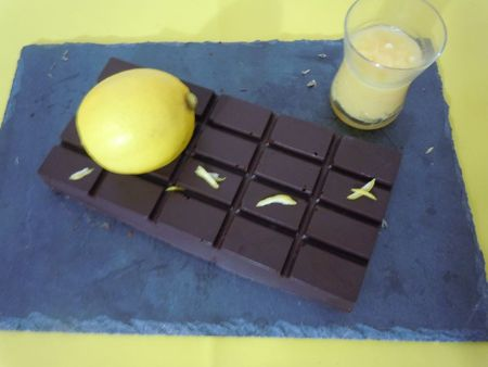 tablette chocolat maison au lemon curd (11)