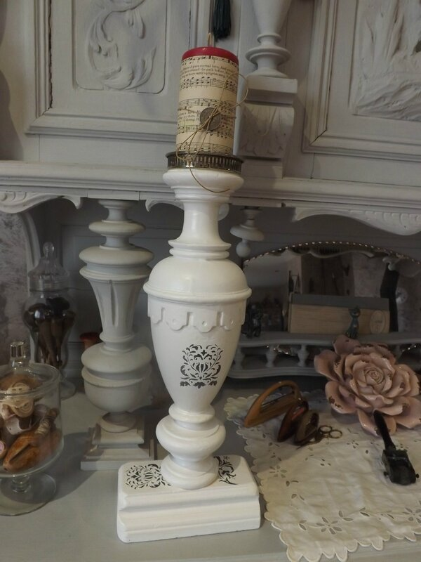 Bougeoir balustre (3)