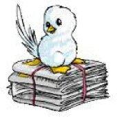 oiseau journaux