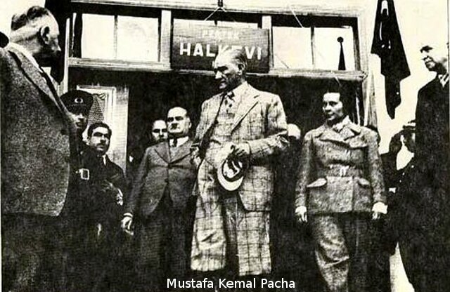 1937-Mustafa Kemal Pacha-Ataturk