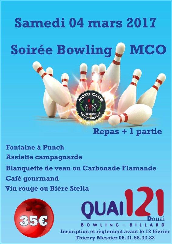 Bowling Mars 2017