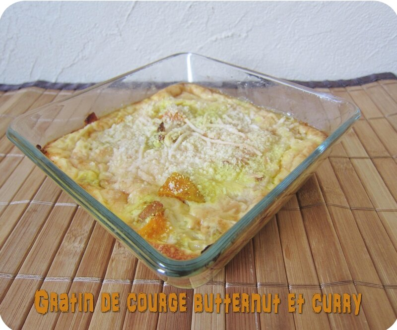 gratin courge butternut curry (scrap)