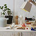 MUUTO Thèière Bulky, Moulin à sel ou poivre PLUS, & Wood Lamp
